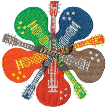 C & D Visionary Incorporated C & D Visionary Patches Guitars