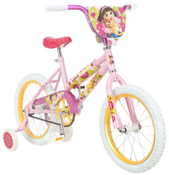 Nickelodeon 16 Girl s Dora Loves Puppy Sidewalk Bike - PACIFIC CYCLE, LLC