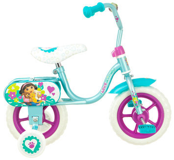 Nickelodeon 10 Girls Dora Puppy Pals Sidewalk Bike - PACIFIC CYCLE, LLC