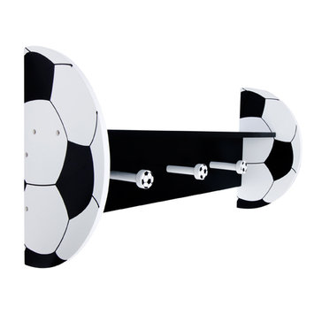 Test Trend Lab Soccer - Wall Shelf With Pegs