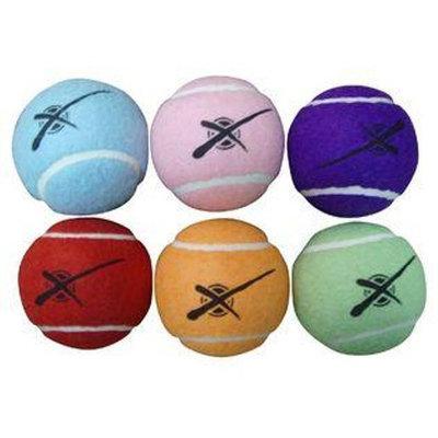 SPIRIT SALES & MARKETING Multi color Tennis Balls 6 pack - SPIRIT SALES & MARKETING