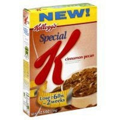 Kellogg Company Special K Cinnamon Pecan Cereal, 12.5 oz