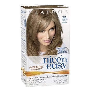 Procter & Gamble Company Nice 'n Easy Hair Color, Natural Medium Ash Blonde (106)