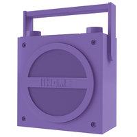 iHOME Bluetooth Wireless Rechargeable Boombox w/ FM Radio iBT4U Purple - SDI TECHONLOGIES INC.