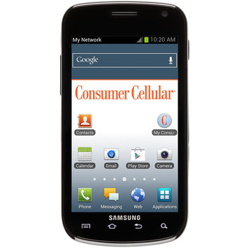 Consumer Cellular Samsung Galaxy Exhilarate Android Smartphone