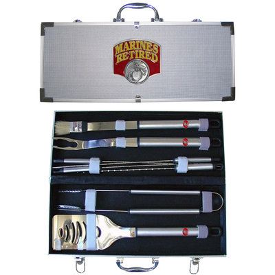 9-Piece United States Marines Retired Grilling Tool Set 174392
