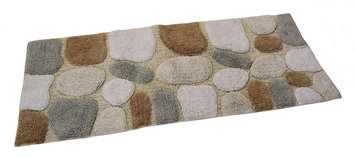 Chesapeake Pebbles Bath Rug Color: Spa