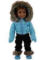 David Shaw Silverware Na Ltd Blue Ski Wear Outfit Fits 18