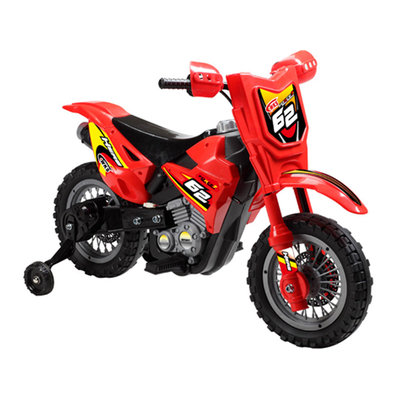 Grupo Ellda, S.a. De C.v. Mini Motos Dirt Bike 6v Red