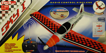 Golden Bright Manufacturer Ltd. Golden Bright Radio Control Sky I Airplane - Red