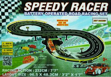Golden Bright Manufacturer Ltd. Golden Bright Battery-Operated Speed Racer Road Racing Set