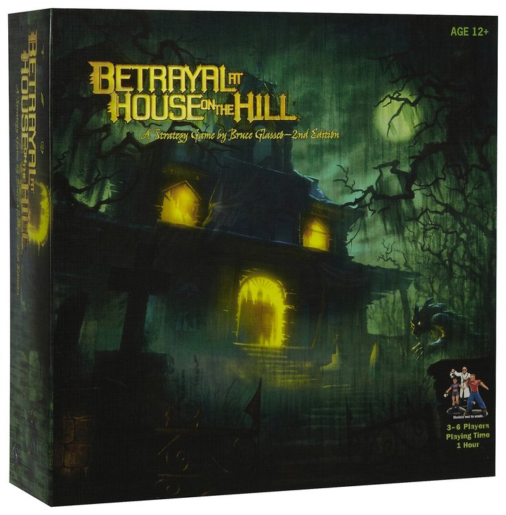 Wizards of the Coast, Inc Betrayal at House on the Hill Ages 13+, 1 ea