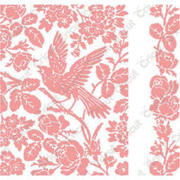 Provo Craft & Novelty Inc. Cuttlebug A2 Embossing Folder/Border Set-Anna Griffin Aviary