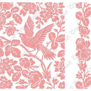 Provo Craft & Novelty Inc. Cuttlebug A2 Embossing Folder/Border Set-Anna Griffin Aviary