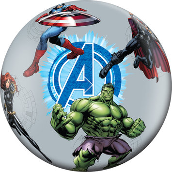 Marvel Entertainment Group Marvel Comics 15 in. Playball Marvel The Avengers - HEDSTROM CORPORATION
