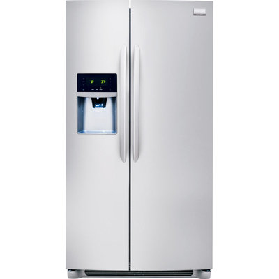 Frigidaire Gallery Stainless Steel Side-By-Side Refrigerator