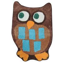 Colormate Owl Garden Bath Rug
