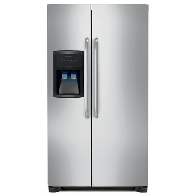 Frigidaire 23 Cu Ft Stainless Steel Side-By-Side Refrigerator