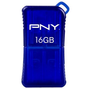 PNY 16GB Micro Sleek USB Flash Drive Blue