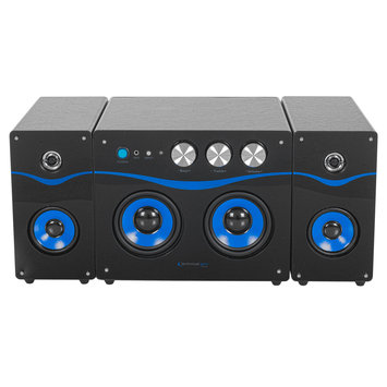 Technical Pro Powered Bluetooth & 174 Loudspeaker - Black