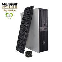 Hewlett Packard HP DC5700 Desktop, Intel Pentium D (Dual Core) 1.8GHz, 2GB, 80GB, DVD, Win7Home Prem, Keyboard, Mouse, 1yr Warranty, Refurb