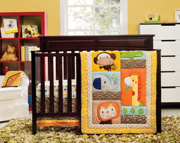 Kids Line Happy Tails 3-Piece Crib Bedding Set