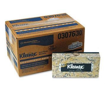 Kimberly-Clark Professional 03076 Facial Tissue 125 Tissues/Box 12-BX/CT White