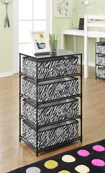 Ameriwood Industries Inc Altra Furniture 4-Bin Storage End Table
