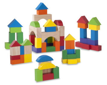 Skechers Wonderworld Toys 75 Piece Block Set