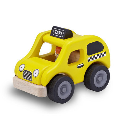 Smart Gear/wonderworld Toys Mini Yellow Cab by Wonderworld - WW-4060