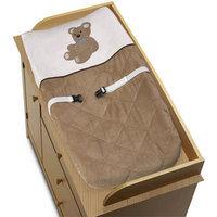 Sweet JoJo Designs Chocolate Teddy Bear Changing Pad Cover