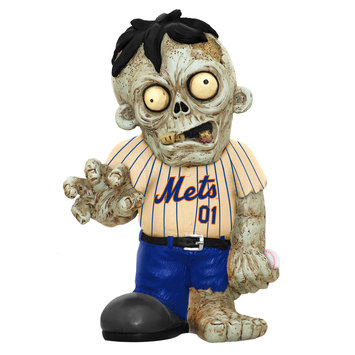 Recaro North Forever Collectibles MLB Resin Zombie Figurine, New York Mets