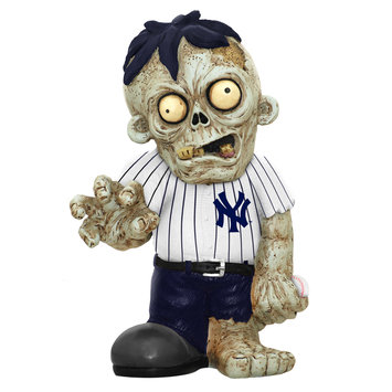 Recaro North Forever Collectibles MLB Resin Zombie Figurine, New York Yankees