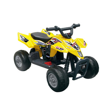 tional Products Ltd. National Products 0728 Quad Racer In Yellow - 6V