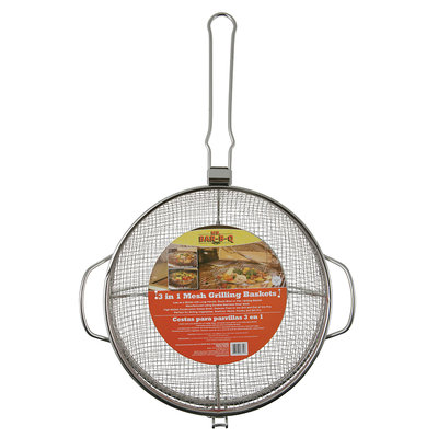 Mr. Bar-B-Q Stainless Steel Grilling Basket Combo