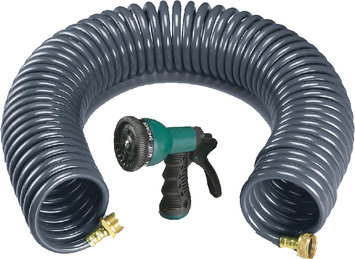 Ray Padula Coil Hose With Nozzle - COMMERCE LLC
