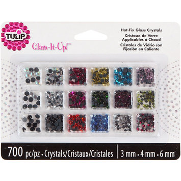 I Love To Create Tulip Glam-It-Up! HotFix Glass Crystals 700/Pkg - Assorted Colors
