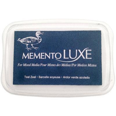 Tsukineko Memento Luxe Full Size Inkpad Teal Zeal