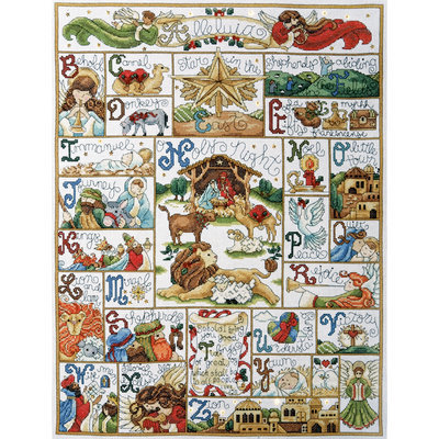 Design Works Crafts, Inc. Tobin Oh Holy Night Counted Cross Stitch Kit 14 Count