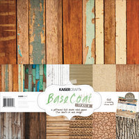 Kaisercraft Base Coat Paper Pack 6 Double Sided Designs/2 Each + Stickers