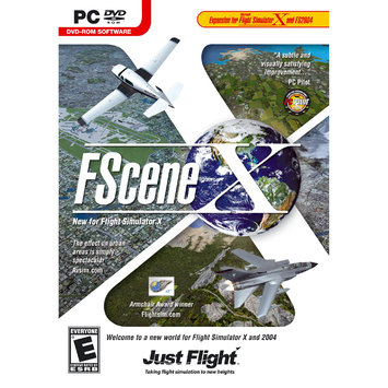 Just Flight FSCENE X - FLIGHT SIMULATOR EXPANSION PACK - Black