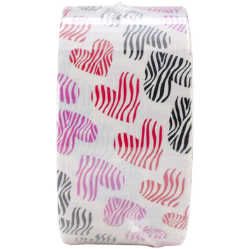 Duck Tape Brand Duct Tape, Wild Hearts, 1.88&quotx 10 Yards