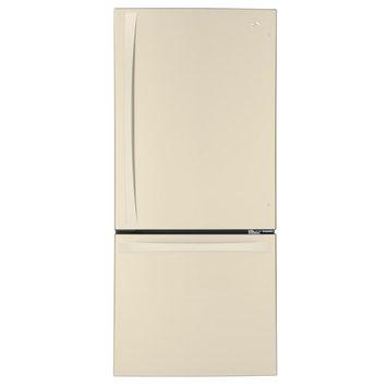 Kenmore Elite 22 cu. ft. Bottom-Freezer Refrigerator Bisque