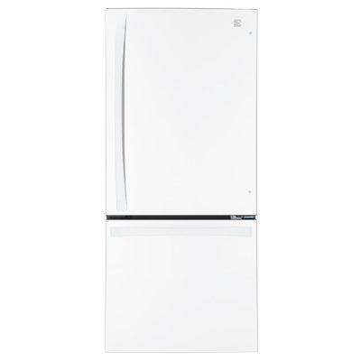 Kenmore Elite 22 cu. ft. Bottom-Freezer Refrigerator White
