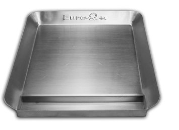 Little Griddle Essential Series Euro-Q Jr- Half-Size, Low Profile Stainless Steel Griddle