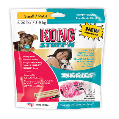 Kong Stuff'N Puppy Ziggies Treats Small - 7 oz