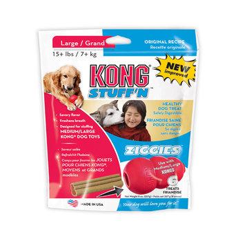 Kong Stuff'N Ziggies Dog Treats Large - 8 oz