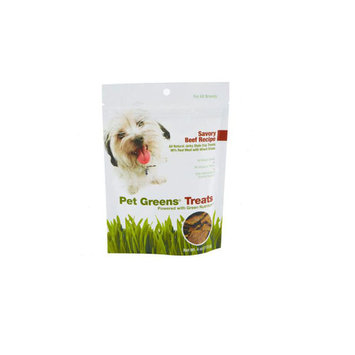 Bellrock Growers Bel Treat Dog Greens Beef 4 oz.