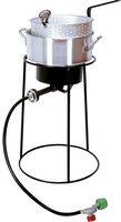 King Kooker 22 Outdoor Cooker with Aluminum Fry Pan