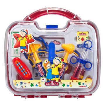 Caillou 10-Piece Plastic Medical Kit